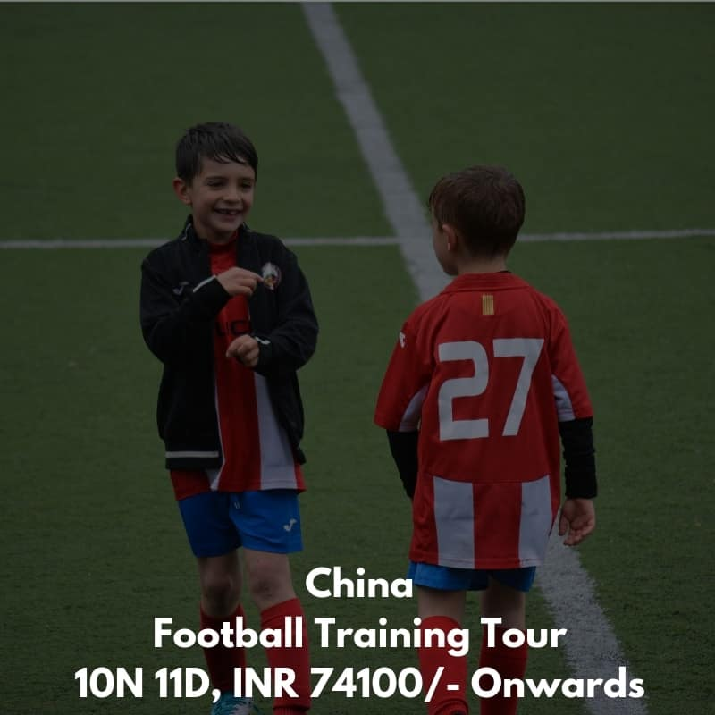China Football Training Tour