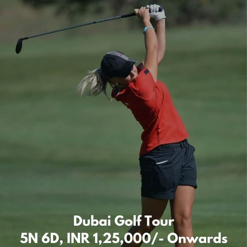 Dubai Golf tour