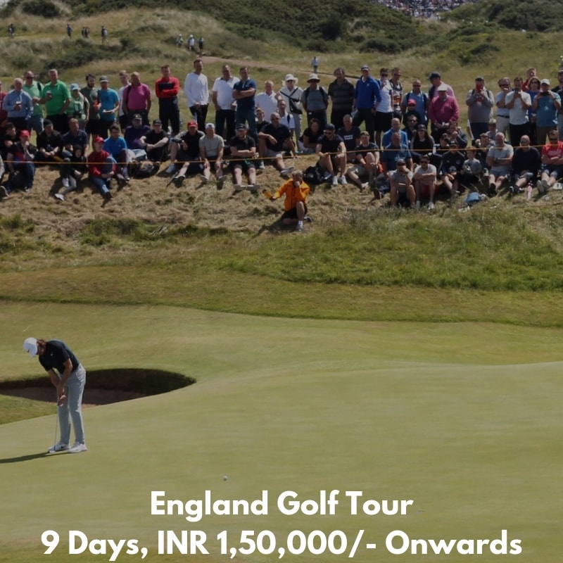 England Golf tour