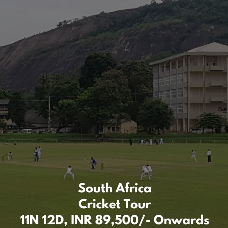 South Africa Cricket Training Tour