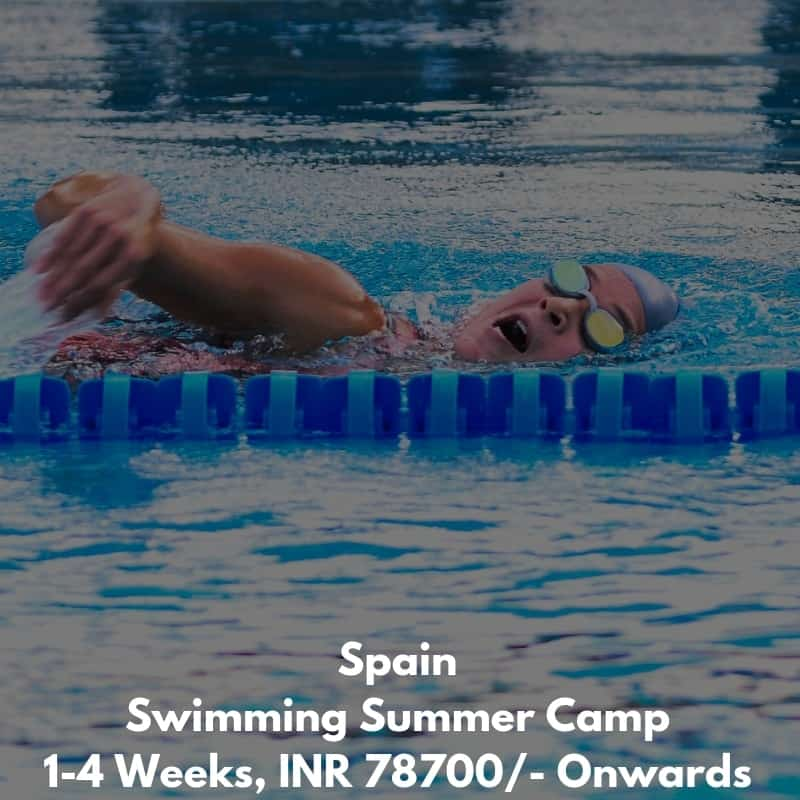 Spain Swimming Summer Camp
