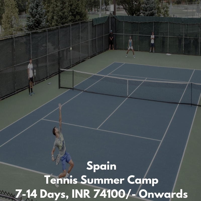 Spain Tennis Summer Camp