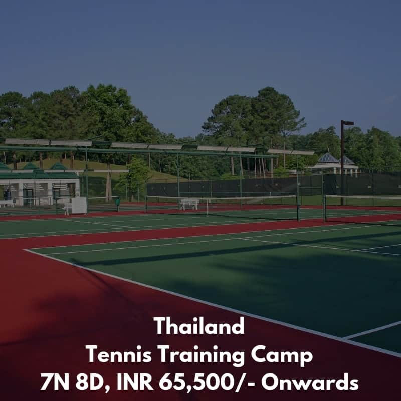 Thailand Tennis Training Camp