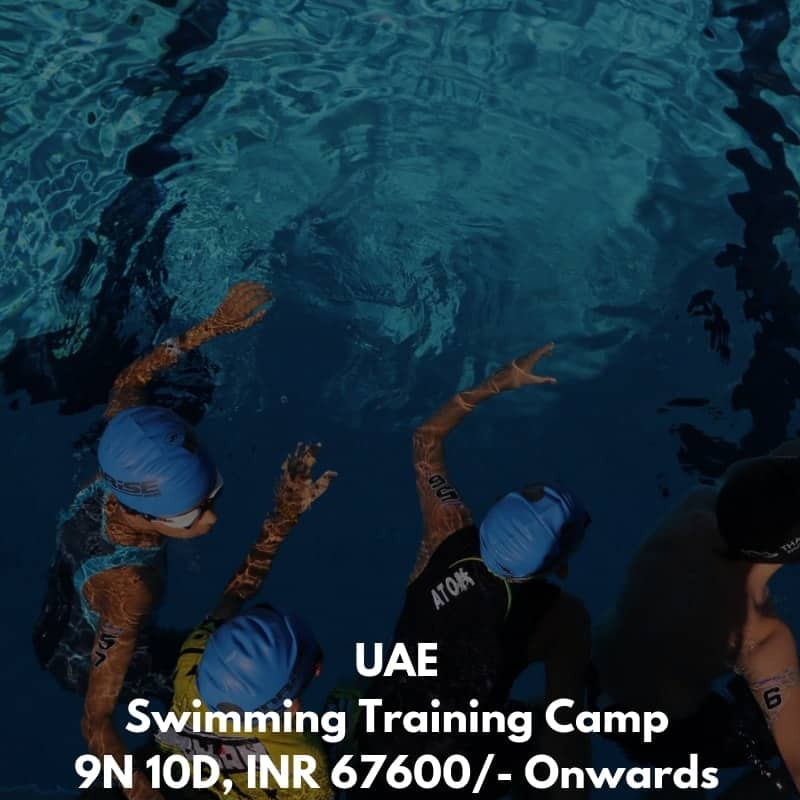 UAE Swimming Training Camp